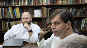Fr. Loschi and Fr. Babu with Fr. Summers