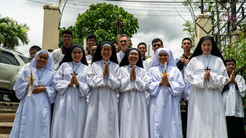 Oblate Sisters in the Novitiate