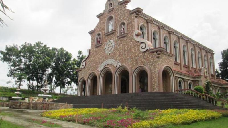 The Church in full bloom