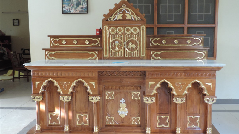 New Altar in Servi Domini Orphanage