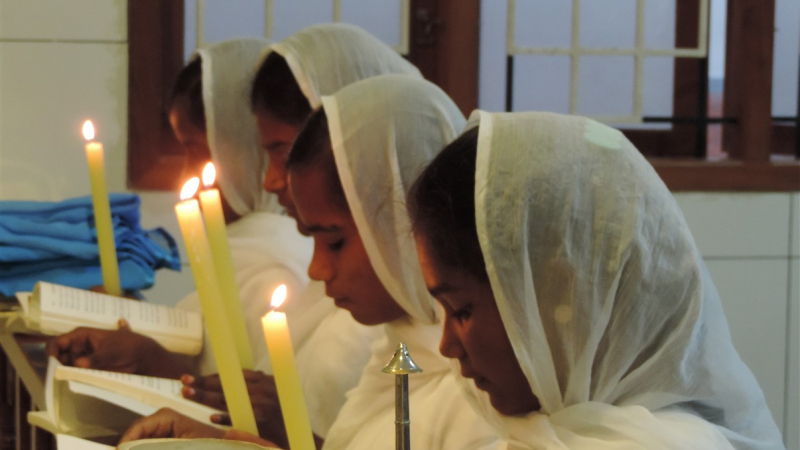 Four new members joining Children of Mary