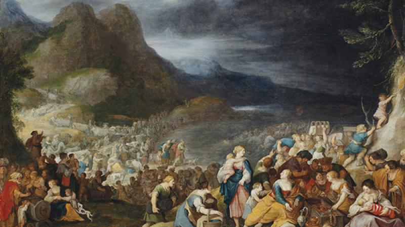 The Israelites cross the Red Sea, Jordaens