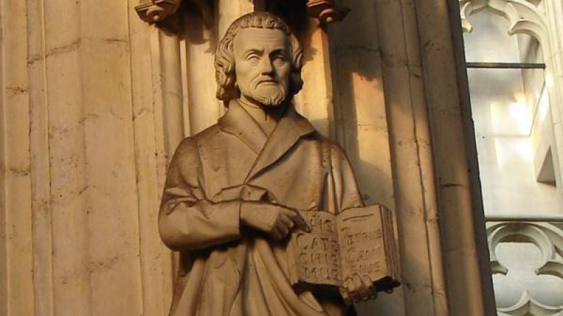 St. Peter Canisius, a great Apostle and Doctor of the Church